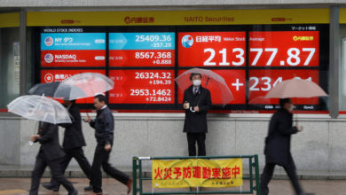Photo of Asian Stocks Down, Preparing for Tough Day ahead of Stimulus. US-China Tensions Mount